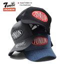 セブンユニオン 7UNION 帽子 メッシュキャップ トラッカーキャップ CAP メンズ レディース 黒 グレー インディゴ 男女兼用 b系 ヒップホップ ストリート系 ファッション ブランド ロゴ
