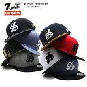 セブンユニオン 7UNION 帽子 キャップ スナップバック CAP メンズ レディース 黒 青 迷彩 グレー黒 紺茶色 赤 白 青 b…
