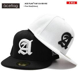 b系 ヒップホップ ストリート系 ファッション メンズ レディース キャップ 【AF-CA-SB-002】 エースフラッグ ACEFLAG CAP 帽子 スナップバック Aロゴ ナンバー 23 イングリッシュフォント 男女兼用 正規品 ギフト