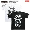 b系 ヒップホップ ストリート系 ファッション 服 メンズ レディース Tシャツ 【AF-TS-TS-010】≪BACK BIG LOGO PRINTED≫ ACEFLAG エー…