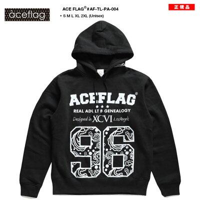 ACEFLAG(エースフラッグ)のフードパーカー(スウェット)
