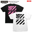 エースフラッグ ACEFLAG Tシャツ 半袖 メンズ レディース 黒 白 M L XL 2L LL 2XL 3L XXL 3XL 4L XXXL 大きいサイズ b系 ヒップホップ …