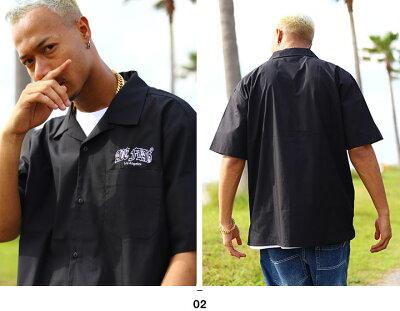 ACEFLAG(エースフラッグ)の半袖シャツ(開襟シャツ)