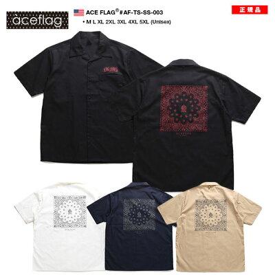 ACEFLAG(エースフラッグ)の半袖シャツ