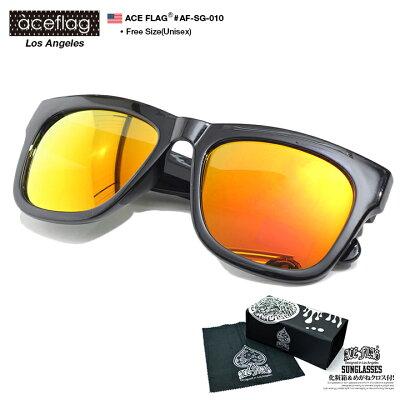 ACEFLAG(エースフラッグ)のサングラス(スクエア型)
