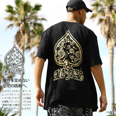 ACEFLAG(エースフラッグ)のTシャツ(ペイズリー)