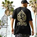 ACE FLAG Tシャツ 半袖 メンズ レディース 春夏用 全9色 大きいサイズ ビッグシルエット エースフラッグ おしゃれ かっこいい スペード…