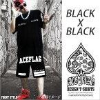 【まとめ割】【新品】ACEFLAG半袖Tシャツ×スウェットハーフパンツセットアップナンバリング23【3XLサイズ】【2XLサイズ】【XLサイズ】【Lサイズ】ホワイトブラック白色黒色【楽ギフ_包装】