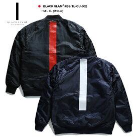 b系 ヒップホップ ストリート系 ファッション 服 メンズ レディース ヘビー アウター MA1 ボンバージャケット 【BS-TL-OU-002】 クラブノイズ バイ ブラックスラム CLUBNO1Z by BLACK SLAM 中綿 ナイロン ミリタリー JKT XL 2L LL 大きいサイズ 正規品 ギフト