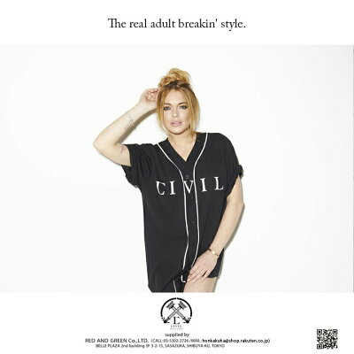 本格派大人のB系はCIVIL-CLOTHING(シヴィルクロージング)の正規代理店です。