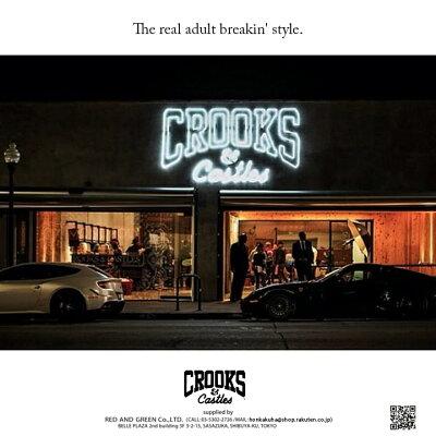 本格派大人のB系はCROOKS&CASTLES(クルックスアンドキャッスルズ)の正規代理店です。