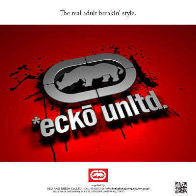 本格派大人のB系はECKO-UNLTD(エコーアンリミテッド)の正規代理店です。