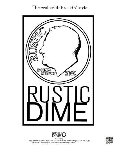 本格派大人のB系はRUSTICDIME(ラスティックダイム)の正規代理店です。
