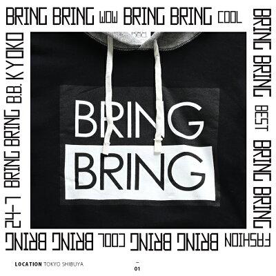 BRING-BRING(ブリンブリン)のフードパーカー(スウェット)