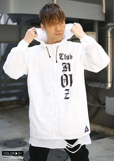 CLUBNO1Z(クラブノイズ)のウインドブレイカー(アウター)