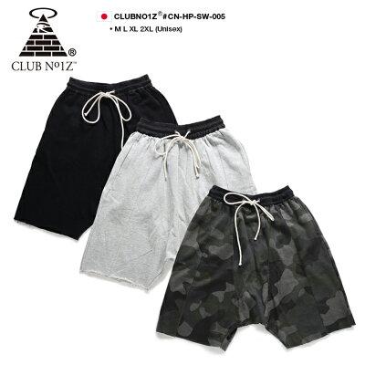 CLUBNO1Z(クラブノイズ)のハーフパンツ(スウェット)