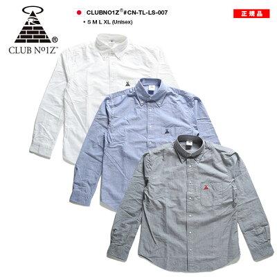 CLUBNO1Z(クラブノイズ)の長袖シャツ(シンプル)