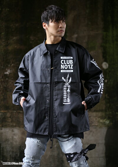 CLUBNO1Z(クラブノイズ)のコーチジャケット(アウター)