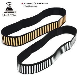 クラブノイズ CLUB NO1Z ヘアーバンド ヘアバンド ヘッドバンド スポーツ メンズ レディース 金 銀 男女兼用 b系 ヒップホップ ストリート系 ファッション ブランド かっこいい おしゃれ ゴール