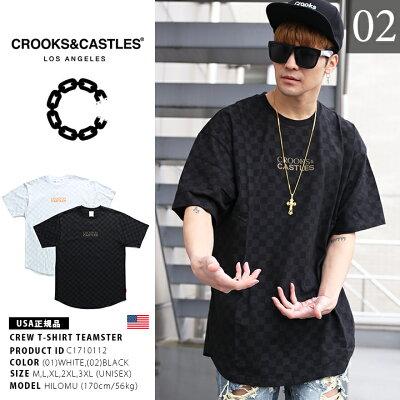 CROOKS&CASTLES(クルックスアンドキャッスルズ)のTシャツ(ロゴ)