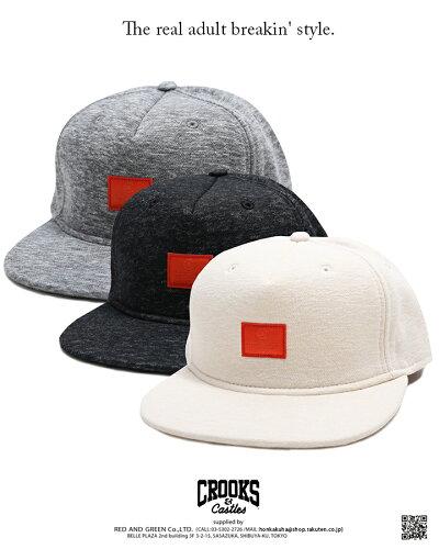 CROOKS&CASTLES(クルックスアンドキャッスルズ)のキャップ(帽子)