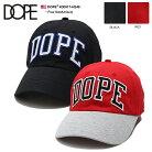 DOPE キャップ メンズ レディース 黒赤 Fサイズ ドープ 帽子 ローキャップ ボールキャップ …