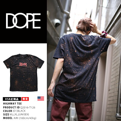 DOPE(ドープ)のTシャツ(総柄)
