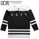 【送料無料】b系 ヒップホップ ストリート系 ファッション メンズ レディース ゲームシャツ 【D0215-T479-BK】 ドープ DOPE ホッケーシ…