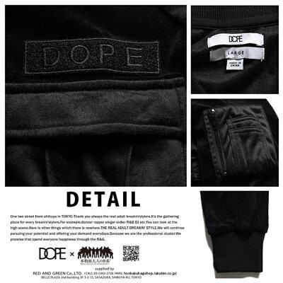 DOPE(ドープ)のボンバージャケット(MA1)