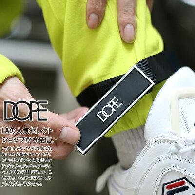 DOPE(ドープ)のトラックパンツ(イージーロングパンツ・ジャージパンツ)