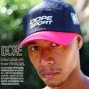 ドープスポーツ DOPE SPORTS 帽子 キャップ ジェットキャップ マウンテンキャップ CAP メンズ レディース 黒赤 黒緑 …