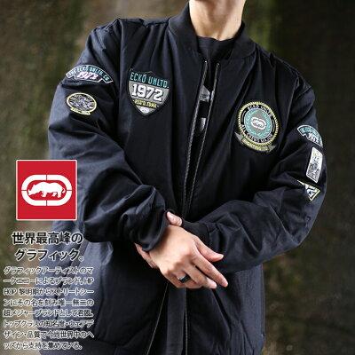 ECKO-UNLTD(エコーアンリミテッド)のボンバージャケット(MA1)