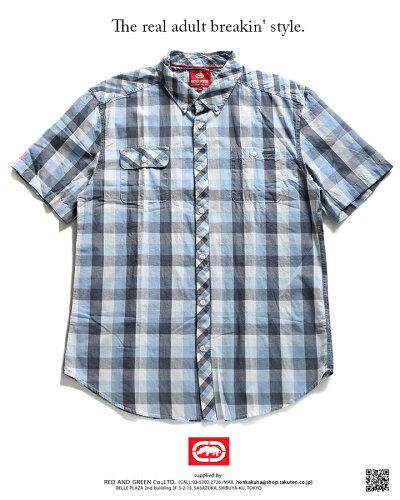 ECKO-UNLTD(エコーアンリミテッド)の半袖シャツ(チェック柄)