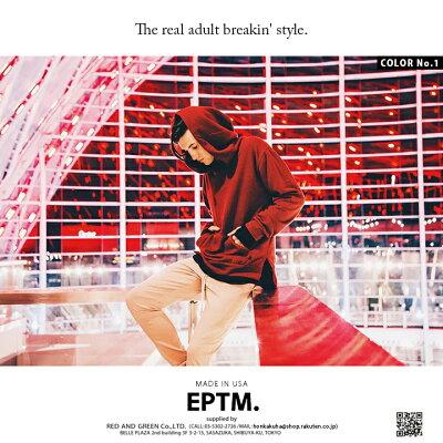 EPTM(エピトミ)のフードパーカー(スウェット)