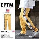 【送料無料】b系 ヒップホップ ストリート系 ファッション メンズ レディース ロングパンツ 【EP7904】 エピトミ EPTM チェッカーフラ…