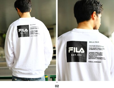 FILA(フィラ)のトレーナー(裏パイルスウェット)