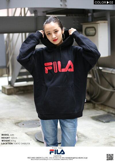 FILA(フィラ)のフードパーカー(スウェット)