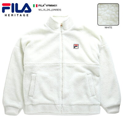 FILA(フィラ)のボアフリースジャケット