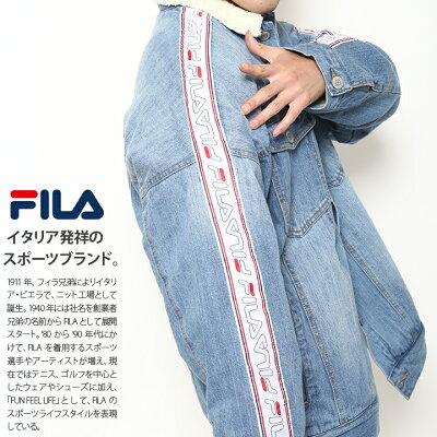FILA(フィラ)のデニムジャケット(アウター)