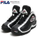 フィラ FILA スニーカー 靴 シューズ 【FHE101-001】 96GL NBA 名作 Grant Hill グラントヒル 復刻 2PAC 着用モデル ハイカット 黒 本…