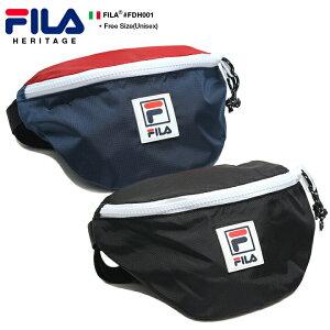 フィラ FILA ボディバッグ ウエストバッグ ウエストポーチ ヒップバッグ BAG メンズ レディース 紺 黒 男女兼用 b系 ヒップホップ ストリート系 スポーツ ファッション かっこいい おしゃれ 1.3L