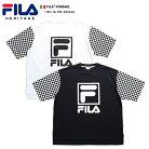 フィラ FILA Tシャツ 【FM9492】 メンズ レディース 半袖 かっこいい おしゃれ チェッカーフ…