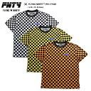 b系 ヒップホップ ストリート系 ファッション メンズ レディース Tシャツ 【FN-171029】 FNTY カラー チェッカーフラッグ レース旗 旗…