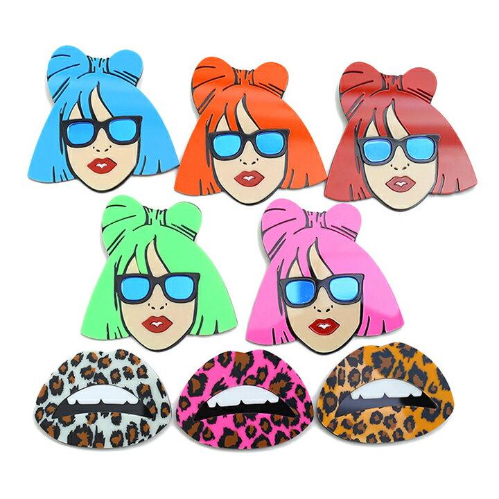 【NB-FZ-BR-001】超希少!Lady GaGa ブローチ!!ファッションブローチ レディーガガブローチ ついに入荷!くちびるモチーフ BROOCH 本人着用モデル 02P03Dec16【楽ギフ_包装】