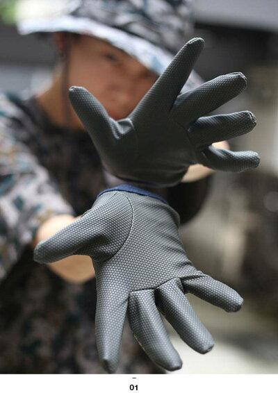 空自デジタル迷彩(防衛省自衛隊グッズ)の手袋(グローブ)