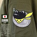 カエル(防衛省航空自衛隊グッズ)のワッペン(パッチ)のルックブック
