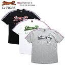 ルティグレ Le TIGRE Tシャツ 半袖 メンズ 黒 白 グレー M L XL 2L LL 2XL 3L XXL 3XL 4L XXXL 大きいサイズ b系 ヒップホップ ストリ…