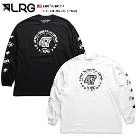 エルアールジー LRG ロンT ロングスリーブTシャツ 長袖 メンズ 黒 白 L XL 2L LL 2XL 3L XXL 3XL 4L XXXL 4XL 5L XXXXL 大きいサイズ b系 ヒップホップ ストリート系 ファッション ブランド 服 かっこいい おしゃれ 袖プリント 星 スター ビッグシルエット J191014
