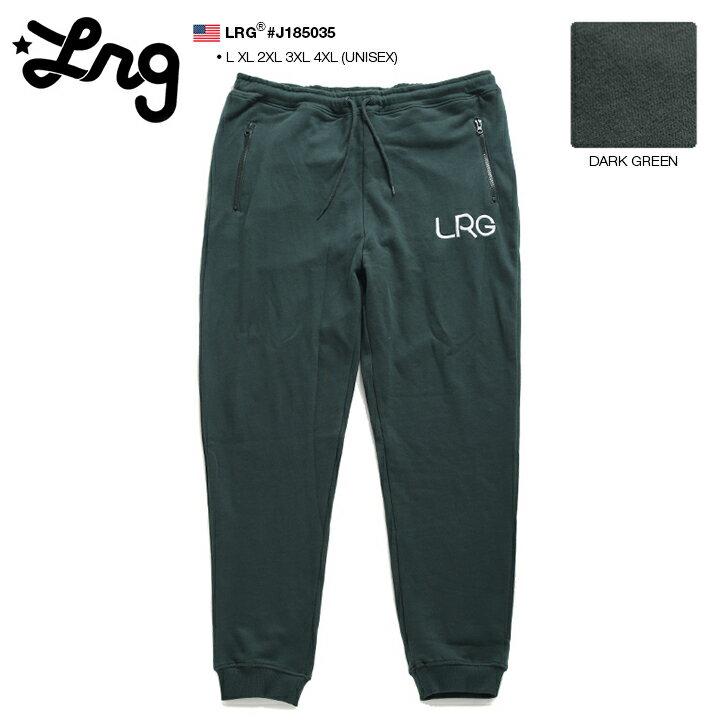 エルアールジー LRG スウェットパンツ イージーロングパンツ ズボン メンズ レディース 春夏秋冬用 深緑 L XL 2L LL 2XL 3L XXL 3XL 4L XXXL 4XL 5L XXXXL 大きいサイズ b系 ヒップホップ ストリート系 ファッション ブランド 服 かっこいい おしゃれ ギフト J185035