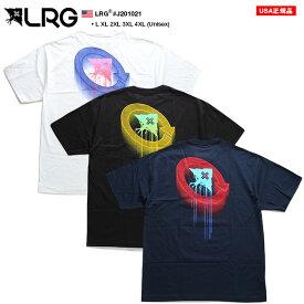 エルアールジー LRG Tシャツ 半袖 メンズ レディース 白 黒 紺 L XL 2L LL 2XL 3L XXL 3XL 4L XXXL 4XL 5L XXXXL 大きいサイズ b系 ヒップホップ ストリート系 ファッション ブランド おしゃれ ネオンカラー ゆったりサイズ オーバーサイズ ビッグシルエット J201021